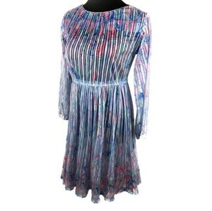 Vintage 80's sheer pastels dress